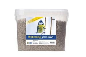 SKALADE SOLROSFRÖN 5 KG