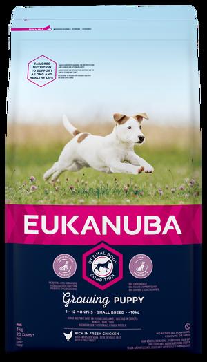 EUKANUBA GROWING PUPPY SMALL 3 KG