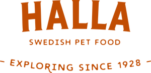 Logotyp för Halla Foder