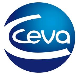 Logotyp för Ceva