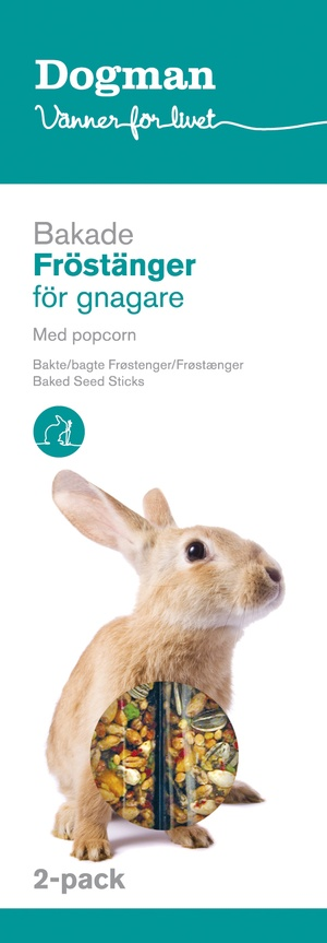 FRÖSTÄNGER MED POPCORN 2-PACK