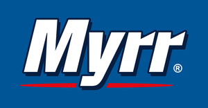 Logotyp för Myrr