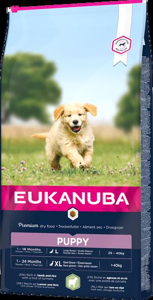 EUKANUBA PUPPY LAMB & RICE LARGE 12 KG