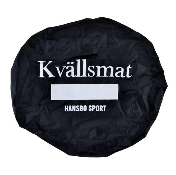 HINKÖVERDRAG KVÄLLSMAT, SVART