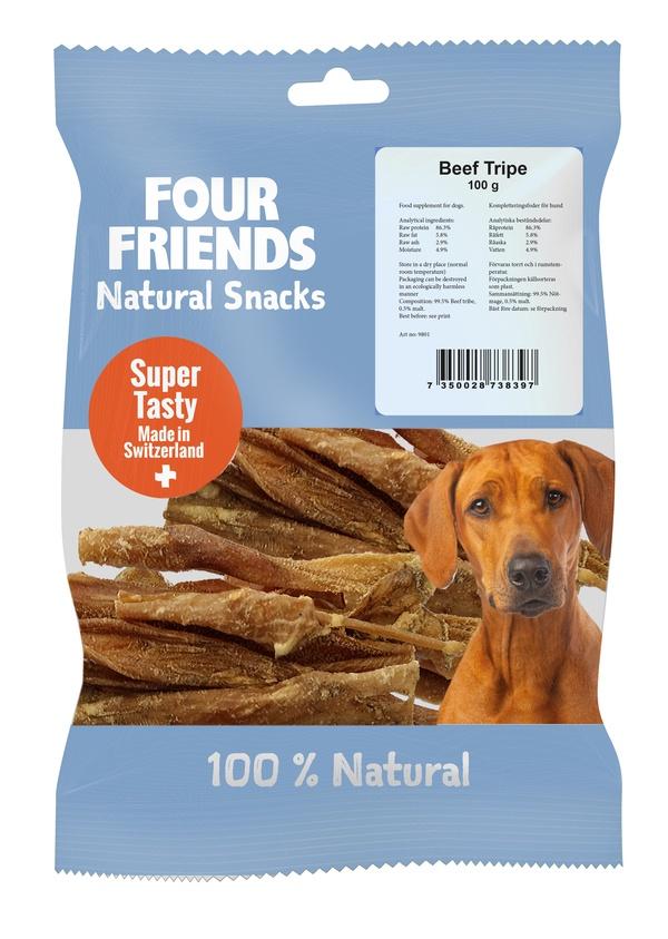 FOUR FRIENDS BEEF TRIPE 100 G