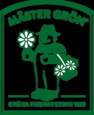 Logotyp för Mäster Grön