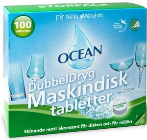 OCEAN MASKINDISKTABLETTER 100-PACK