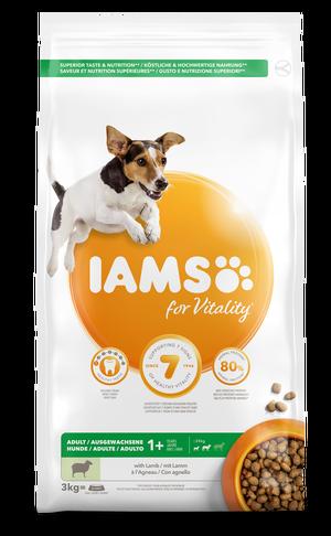 IAMS DOG LAMB SMALL & MEDIUM 3 KG