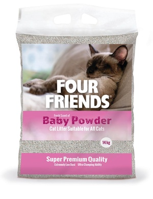 FOUR FRIENDS KATTSAND BABY POWDER 14 KG