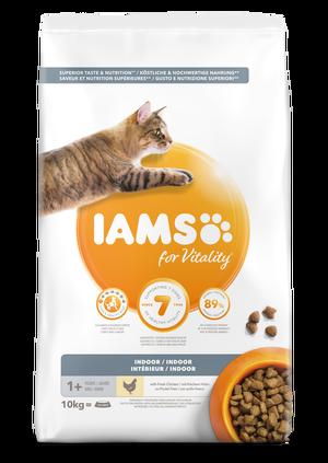 IAMS CAT ADULT INDOOR - 10 KG