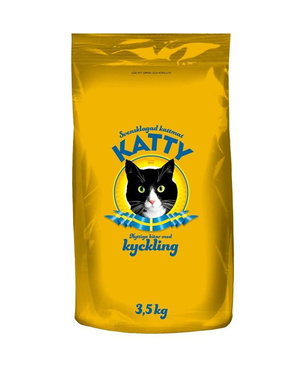 KATTY NYTTIGA BITAR KYCKLING - 3,5 KG