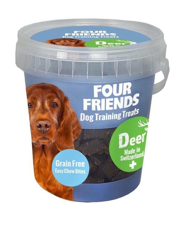 FOUR FRIENDS TRAINING TREATS DEER 400 G