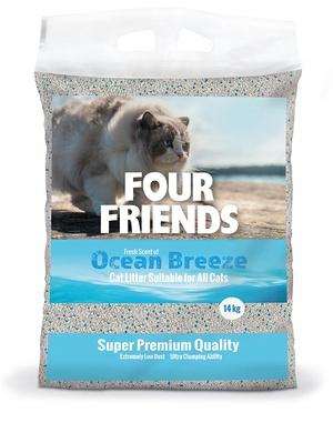 FOUR FRIENDS KATTSAND OCEAN BREEZE 14 KG