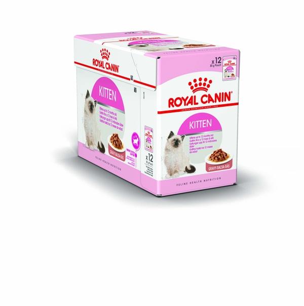 ROYAL CANIN WET KITTEN IN GRAVY 12x85 G