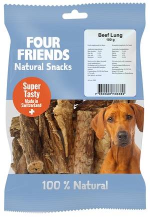 FOUR FRIENDS BEEF LUNG 100 G