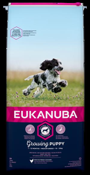 EUKANUBA GROWING PUPPY MEDIUM