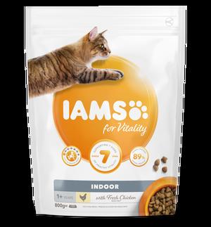 IAMS CAT ADULT INDOOR - 800 G