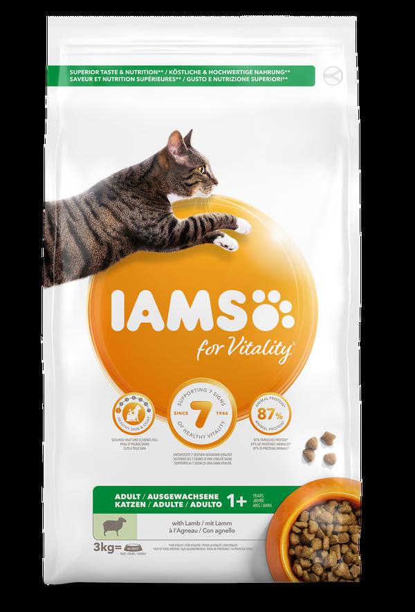 IAMS CAT ADULT LAMB 3 KG