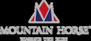 Logotyp för Mountain Horse