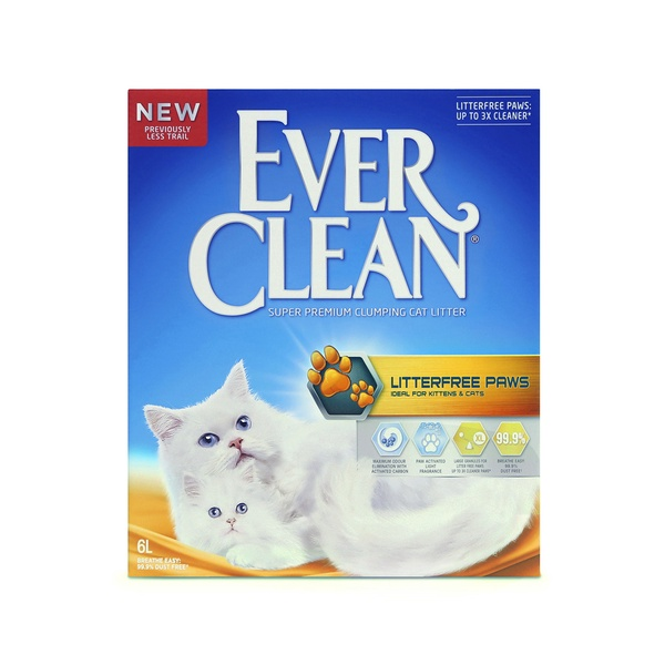 EVER CLEAN LITTERFREE PAWS - 6 LITER