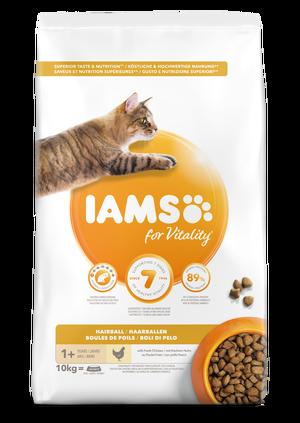 IAMS CAT ADULT HAIRBALL - 10 KG