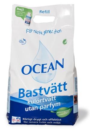 OCEAN BASTVÄTT REFILL - 6,2 KG, OPARFYMERAD