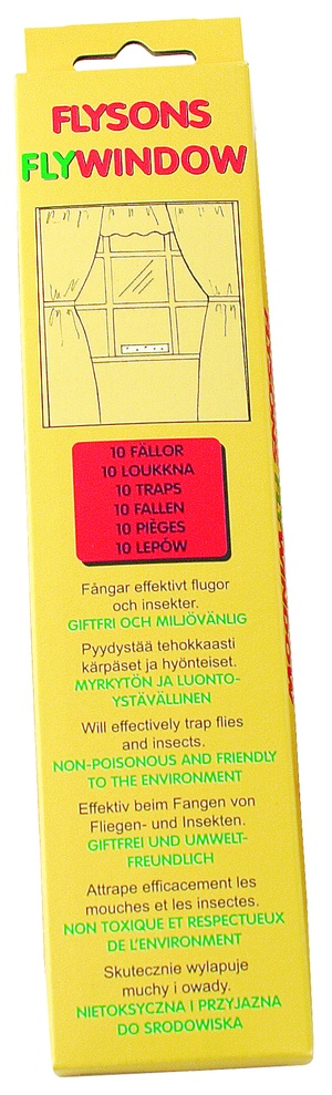 FLY WINDOW 10-PACK