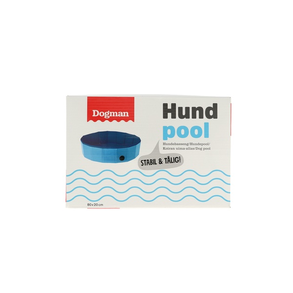 HUNDPOOL, BLÅ 160 CM