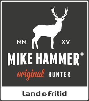 Logotyp för Mike Hammer